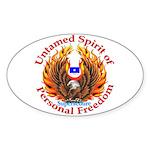 Spirit of Supersedure Oval Sticker