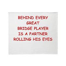 BRIDGE3 Throw Blanket