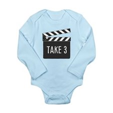 Take 3 Long Sleeve Baby Body Suit