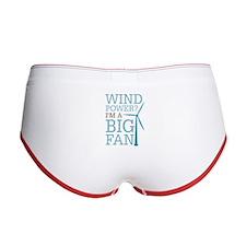 Wind Power Big Fan Women's Boy Brief
