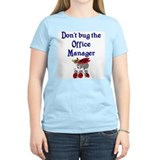 Office Manager Ladybugs T-Shirt