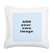 Add Image Square Canvas Pillow