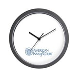 American Inns of Court Wall Clock