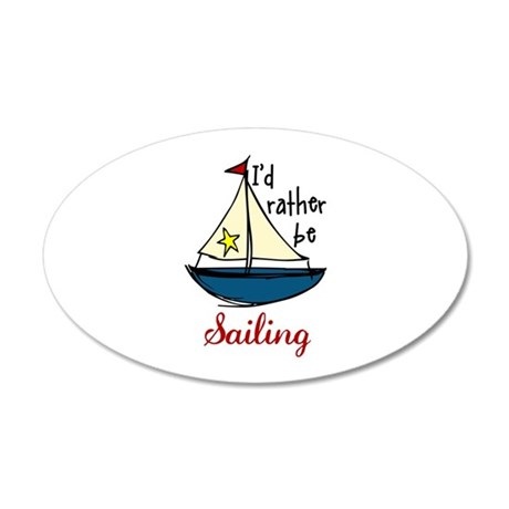 Rather Be Sailing Wall Decal
