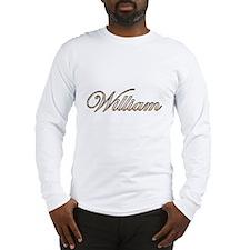 William Long Sleeve T-Shirt