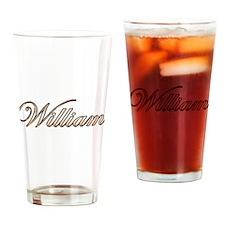 William Drinking Glass
