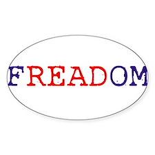 Freadom_Bumper Decal