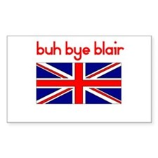 Buh Bye Blair Rectangle Decal