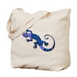 Blue Gecko Tote Bag
