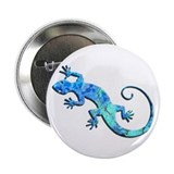 "Malachite Blue Gecko 2.25"" Button"