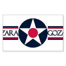 ZARAGOZA AIR BASE Decal