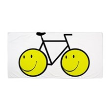 Happy Bike Beach Towel