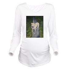 Pibble Long Sleeve Maternity T-Shirt