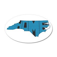 North Carolina Home 20x12 Oval Wall Decal