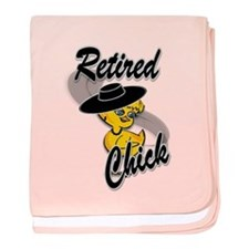 Retired Chick #4 baby blanket