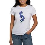 Blue Kokopelli Women's T-Shirt