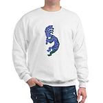 Blue Kokopelli Sweatshirt