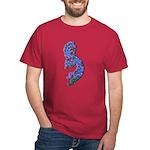 Blue Kokopelli Dark T-Shirt