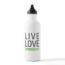 Criminology Water Bottle