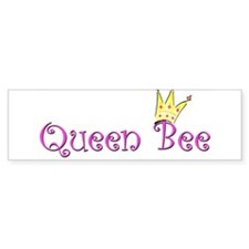 Funny Queen bee Bumper Sticker