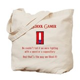 Confused Gamer Tote Bag