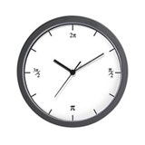 radian (simple) wall clock