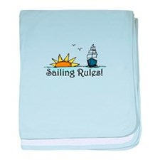 Sailing Rules baby blanket