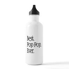 BEST POP POP EVER Water Bottle