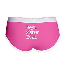 Best Sister Ever Women's Boy Brief