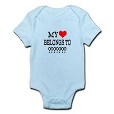 Personalize My Heart Belongs To Body Suit
