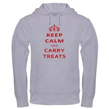 Keep Calm And Carry Treats Hoodie
