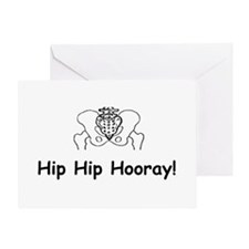 Hip Hip Hooray Greeting Cards