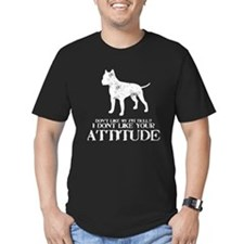 Dont Like My Pit Bull? I Your Attitude T-Shirt