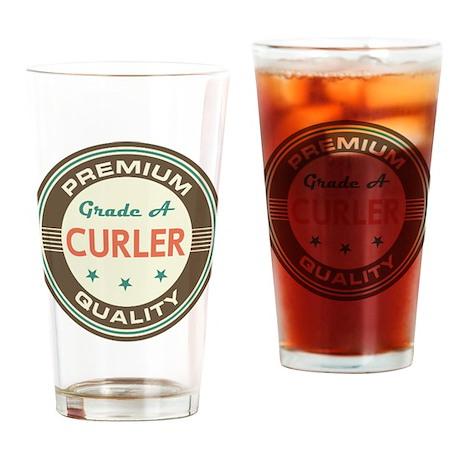 Curler Vintage Drinking Glass