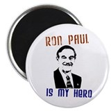 """Ron Paul is my Hero"" 2.25"" Magnet (10 pack)"
