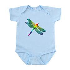 Rainbow Dragonfly Infant Bodysuit