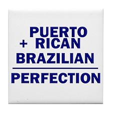 Brazilian + Puerto Rican Tile Coaster