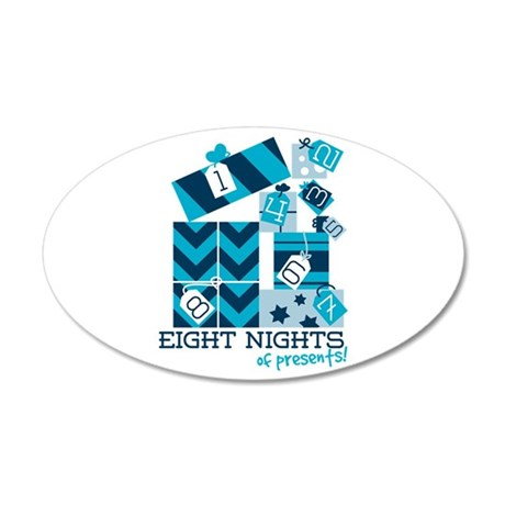 Eight Nights Of Presents! Wall Decal