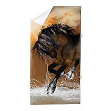 Beautiful horse Beach Towel
