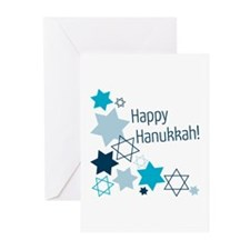 Happy Hanukkah! Greeting Cards