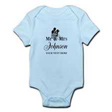 Personalized Mr and Mrs Body Suit