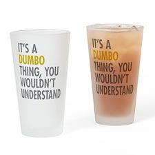 DUMBO Thing Drinking Glass