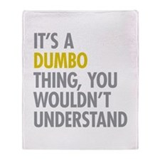 DUMBO Thing Throw Blanket