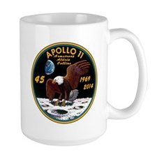 Apollo 11 45th Anniversary Ceramic Mugs Mugs
