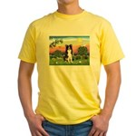 Bright Country/Border Collie Yellow T-Shirt