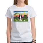 Bright Country/Border Collie Women's T-Shirt