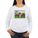 Bright Country/Border Collie Women's Long Sleeve T