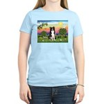 Bright Country/Border Collie Women's Light T-Shirt