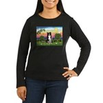 Bright Country/Border Collie Women's Long Sleeve D