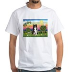 Bright Country/Border Collie White T-Shirt
